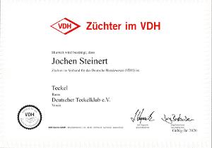 Züchter im VDH | Jochen Steinert