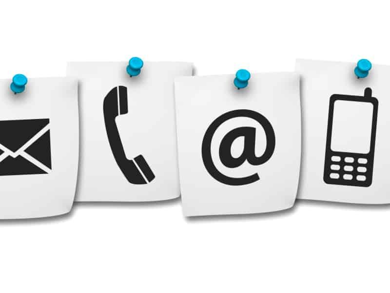 Telefonnummer | Anrufbeantworter | E-Mail Kontaktformular
