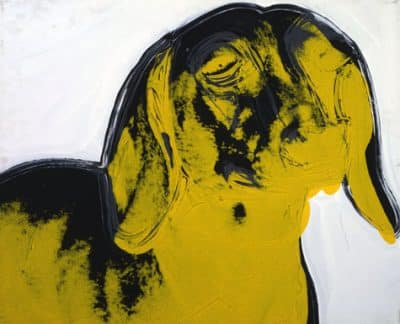 Andy Warhol - Dog (Dachshund), 1976