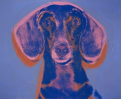 Andy Warhol - Portrait of Maurice (1976)