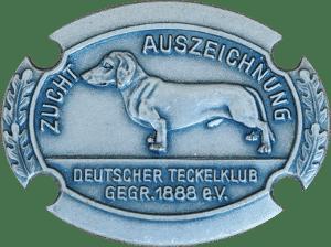 Breeding award in silver (Deutscher Teckelklub 1888 e.V.)