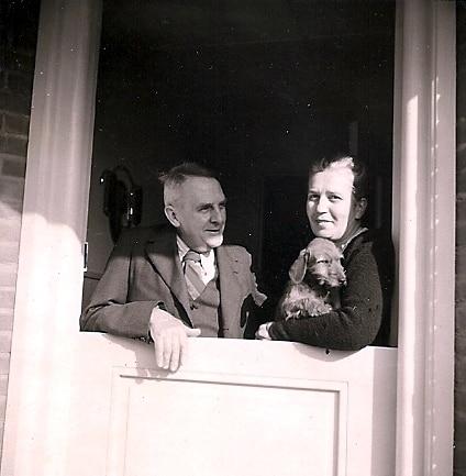 Hendrik und Margareta Pouw - 1951