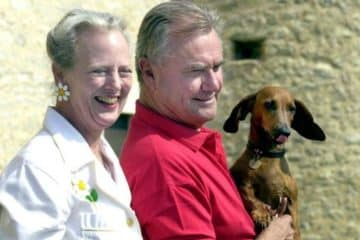Königin Margrethe und Prinz Henrik von Dänemark